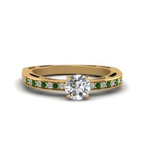 Classic Pave Diamond Ring