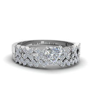 Unique Diamond Wedding Set