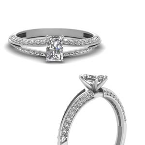 Radiant Cut 0.75 Ct. Ring