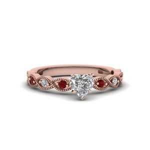 Delicate Heart Shaped Ring