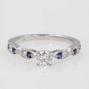 0.65 Ct. Diamond Vintage Art Deco Ring