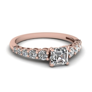 Basket Prong Diamond Ring