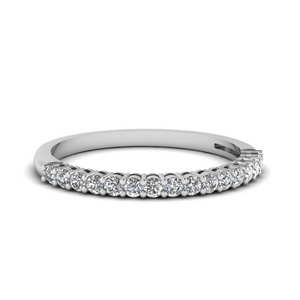 Basket Prong Diamond Band