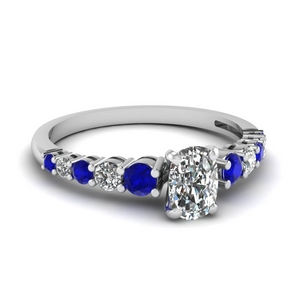 Basket Prong Engagement Ring