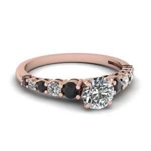 1 Ct. Black Diamond Ring
