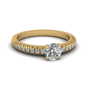 Classic French Pave Ring