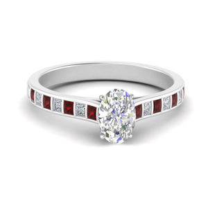 Beautiful Wedding Ring With Ruby