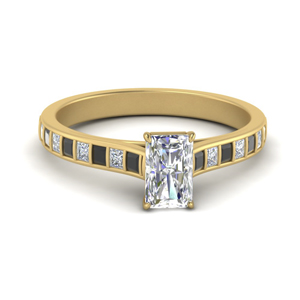 Gold Cathedral Engagement Ring