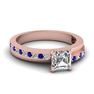 Beautiful Sapphire Engagement Ring
