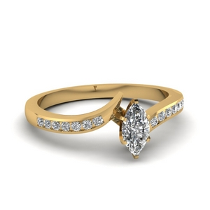 0.75 Ct. Marquise Diamond Ring