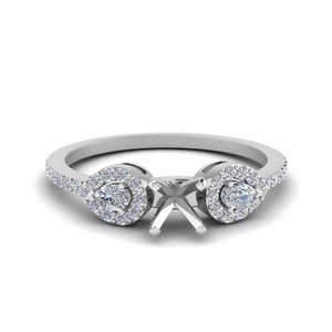 Petite Engagement Ring Settings