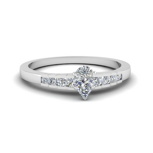 Diamond Graduated Accent Ring