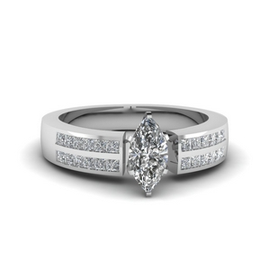 Marquise Diamond 0.75 Ct. Ring
