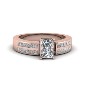 Classic Channel Diamond Ring
