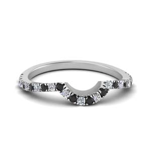 U Prong Women Wedding Band