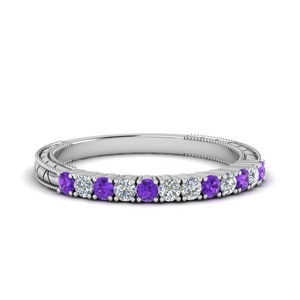 Vintage Purple Topaz Band