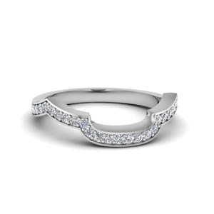 Antique Pave Diamond Band