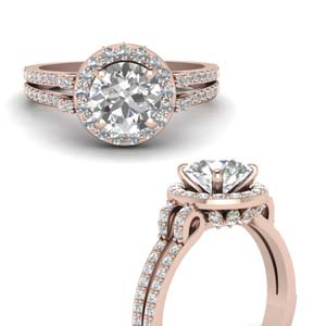 Diamond Gallery Engagement Ring