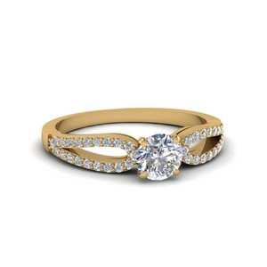 Loop Diamond Promise Ring