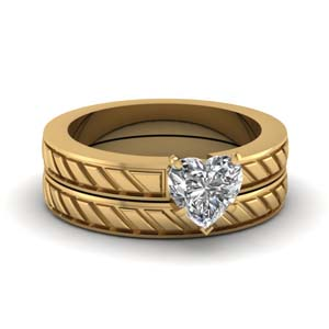 Brick Design Lab Created Diamond Wedding Set