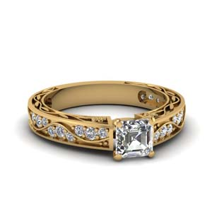 1.10 Ct. Pave Vintage Diamond Ring