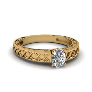 Infinity Design Solitaire Ring