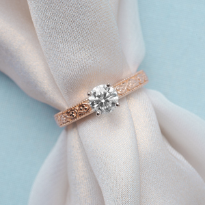 rose gold filigree solitaire engagement ring FDENS3627RORANGLE4.jpg