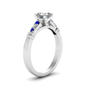 asscher-cut-diamond-duet-bar-side-stone-ring-with-blue-sapphire-in-14K-white-gold-FDENS363ASRGSABLANGLE2-NL-WG