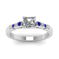 asscher-cut-diamond-duet-bar-side-stone-ring-with-blue-sapphire-in-14K-white-gold-FDENS363ASRGSABLANGLE5-NL-WG