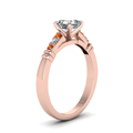 asscher-cut-diamond-duet-bar-side-stone-ring-with-orange-sapphire-in-14K-rose-gold-FDENS363ASRGSAORANGLE2-NL-RG