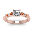 asscher-cut-diamond-duet-bar-side-stone-ring-with-orange-sapphire-in-14K-rose-gold-FDENS363ASRGSAORANGLE5-NL-RG