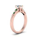 cushion-cut-diamond-duet-bar-side-stone-ring-with-green-emerald-in-14K-rose-gold-FDENS363CURGEMGRANGLE2-NL-RG