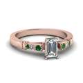 emerald-cut-diamond-duet-bar-side-stone-ring-with-green-emerald-in-18K-rose-gold-FDENS363EMRGEMGR-NL-RG