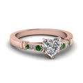 heart-shaped-diamond-duet-bar-side-stone-ring-with-green-emerald-in-14K-rose-gold-FDENS363HTRGEMGR-NL-RG