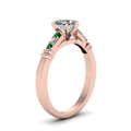 heart-shaped-diamond-duet-bar-side-stone-ring-with-green-emerald-in-14K-rose-gold-FDENS363HTRGEMGRANGLE2-NL-RG