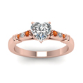 heart-shaped-diamond-duet-bar-side-stone-ring-with-orange-sapphire-in-14K-rose-gold-FDENS363HTRGSAORANGLE5-NL-RG