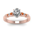 oval-shaped-diamond-duet-bar-side-stone-ring-with-orange-sapphire-in-14K-rose-gold-FDENS363OVRGSAORANGLE5-NL-RG