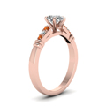 pear-shaped-diamond-duet-bar-side-stone-ring-with-orange-sapphire-in-14K-rose-gold-FDENS363PERGSAORANGLE2-NL-RG
