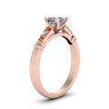 princess-cut-diamond-duet-bar-side-stone-ring-with-orange-sapphire-in-14K-rose-gold-FDENS363PRRGSAORANGLE2-NL-RG