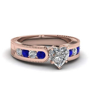 Sapphire Channel Set Ring