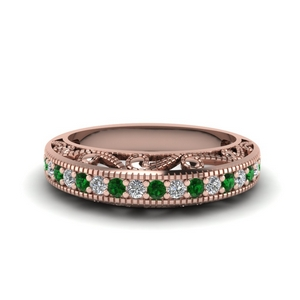 Paisley Antique Emerald Band