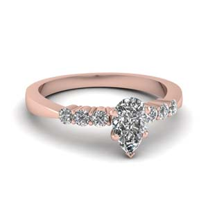 Tapered Style Diamond Ring