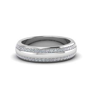 Pave Diamond Men Band