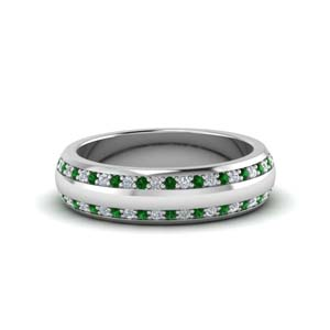 Platinum Mes Wedding Band