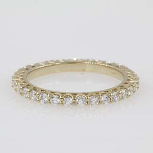 1 Ct. Diamond Trellis Eternity Band