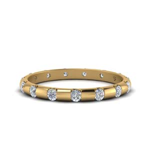 Half Carat Bar Set Eternity Band