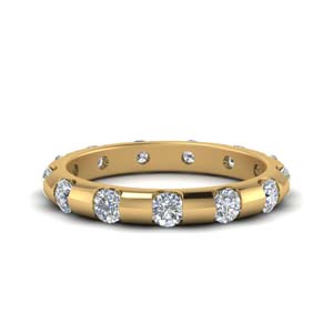 1 Carat Bar Set Diamond Eternity Band