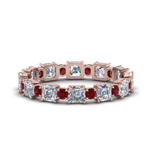 2.25-ct.-asscher-and-round-art-deco-diamond-eternity-band-with-ruby-in-FDEWB123628AS(3.00MM)GRUDR-NL-RG