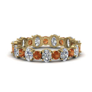 3.50-carat-oval-shaped-and-round-eternity-diamond-band-with-orange-sapphire-in-FDEWB123628OVGSAOR-NL-YG
