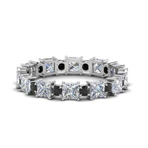 Black Diamond Art Deco Band
